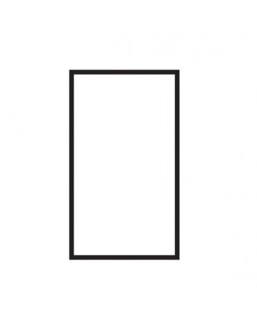 Fry top a gas su mobile a giorno7 kw, piastra singola liscia - piastra cromata cm 36x51  - dim. 40x70,5x90h