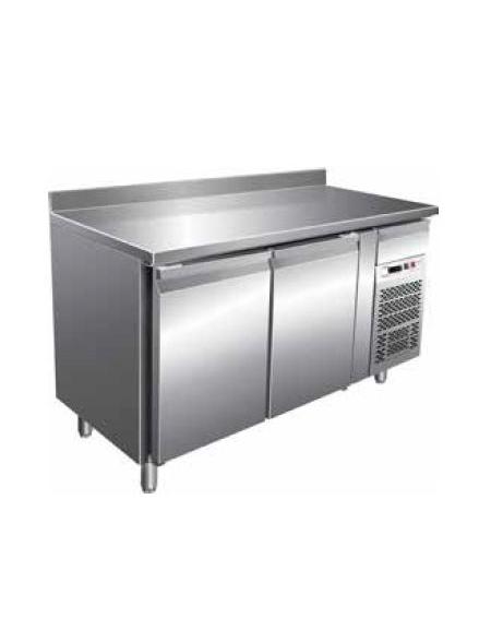 Tavolo refrigerato con alzatina 2 porte cm 136x60x85h profondit cm 60 temperatura - Tavolo profondita 60 cm ...