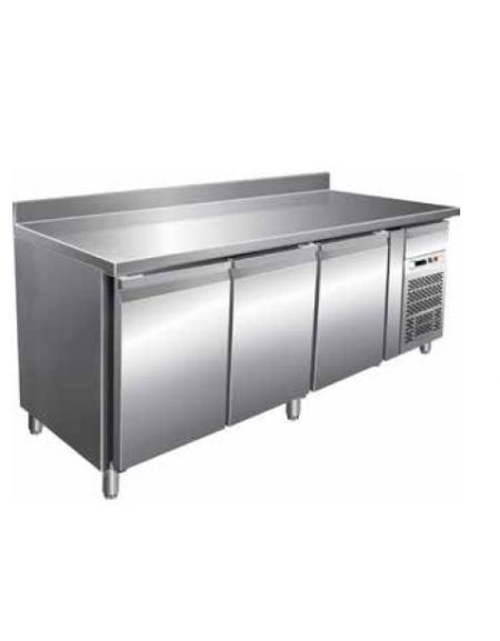 Tavolo refrigerato con alzatina 3 porte cm 179 5x60x85h profondit cm 60 temperatura - Tavolo profondita 60 cm ...