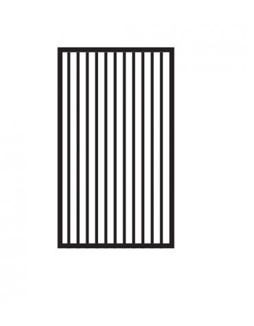 Fry top a gas da banco, 7kw, piastra rigata cromata,  superficie di cottura cm 36x51 - cm 40x70,5x28h