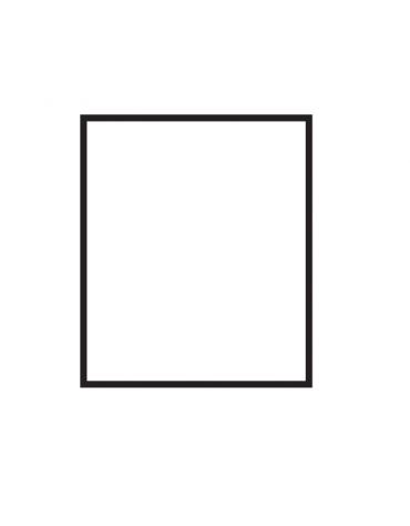 Fry top a gas da banco, 10,5kw, piastra liscia,  superficie di cottura cm 56x51 - cm 60x70,5x28h