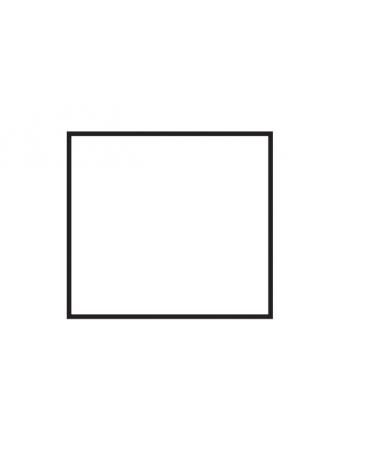 Fry top a gas da banco, 14kw, piastra doppia liscia cromata, superficie di cottura cm 76x51 - cm 80x70,5x28h