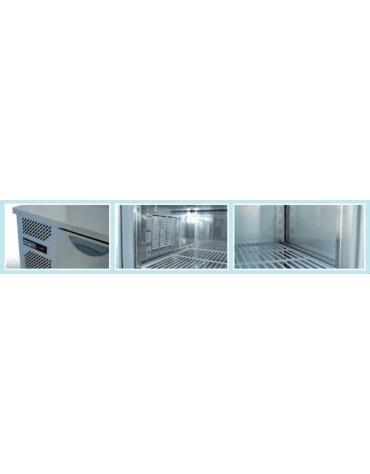 Tavolo refrigerato 3 Porte Dimensioni Cm.283x80x85h