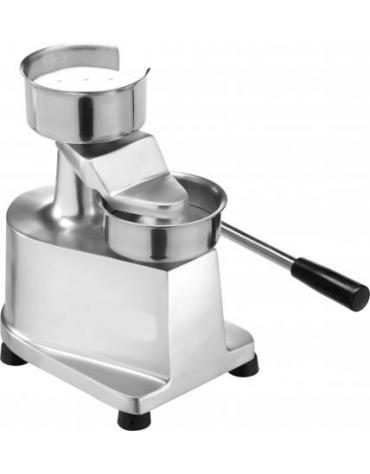 Hamburgatrice - Pressa per hamburger manuale diametro mm. 100
