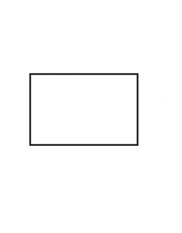 Fry top a gas da banco, 21kw, piastra doppia liscia cromata, superficie di cottura cm 116x51 - cm 120x70,5x28h