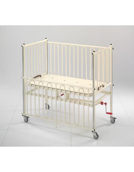 Letto pediatrico tr-rtr con manovella per bambini da 1 a 4 anni