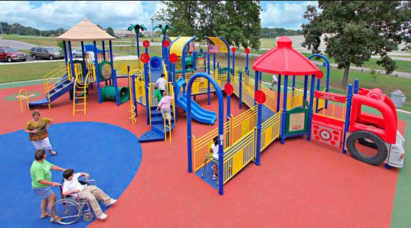 DinaForniture - Parchi giochi inclusivi