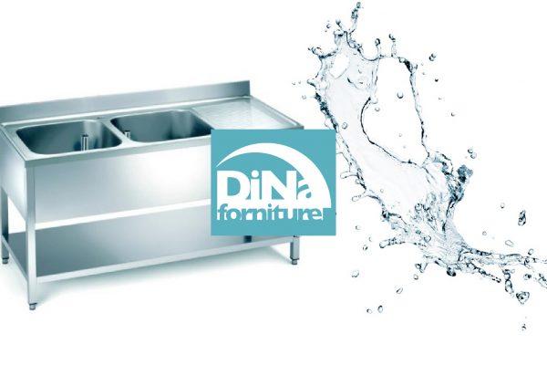 Dina Forniture - Lavello in acciaio Inox