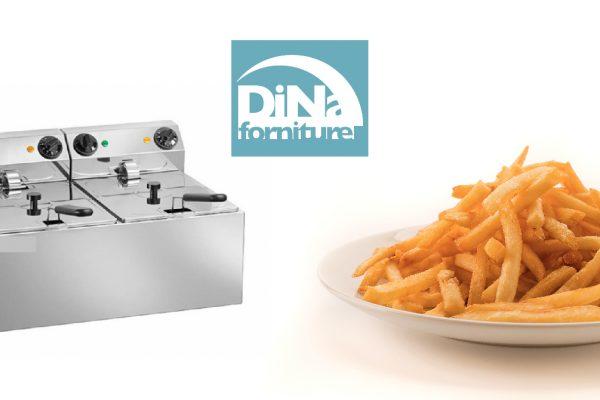 Dina Forniture - Friggitrice in cucina