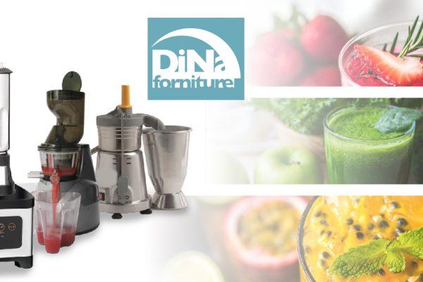 Dina Forniture - Estrattore, frullatore e centrifuga