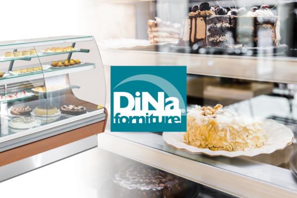 Dina Forniture - Vetrina refrigerata