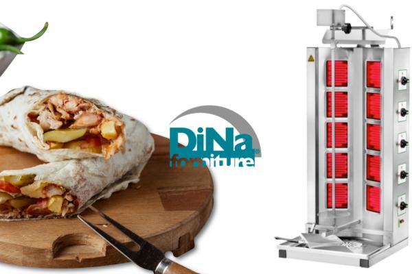Dina Forniture - macchina cuoci kebab