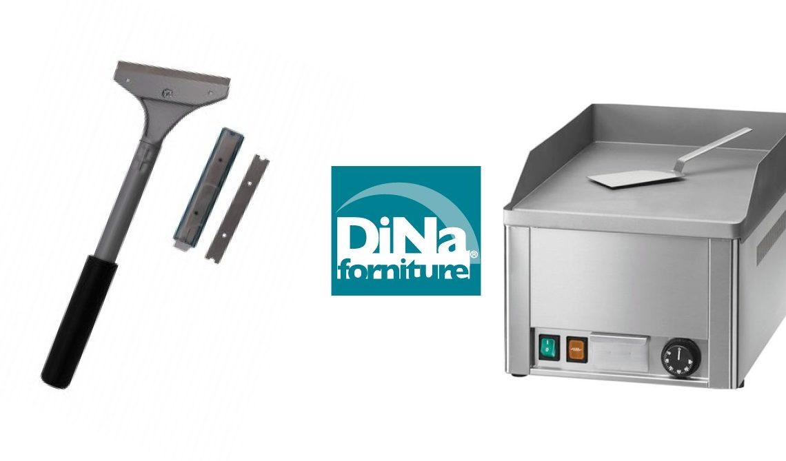 Dina Forniture - Pulizia fry top