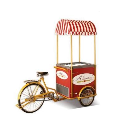 Carretti ambulanti del gelato