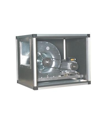 Ventilatori cassonati con trasmissione a cinghia