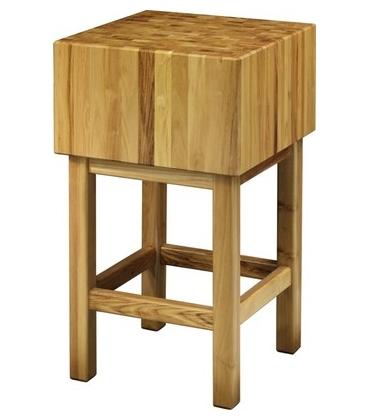 Ceppi in legno per macelleria arredamento inox for Arredamento macelleria usato