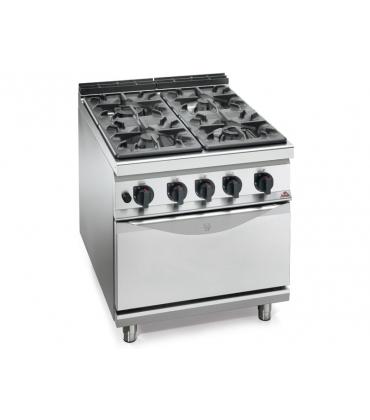 Cucine su mobile con forno