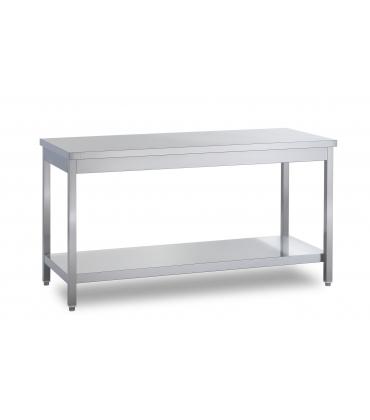 Piano di lavoro senza alzatina profondit 60 cm tavoli da - Tavoli inox per ristorazione ...