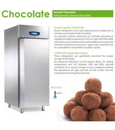 Armadi frigoriferi per cioccolato