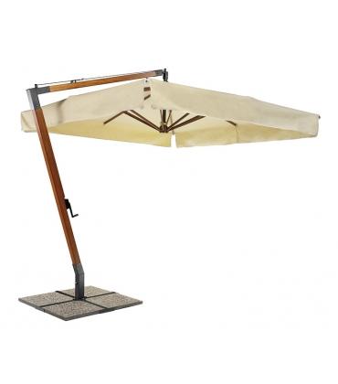 Con palo laterale in legno