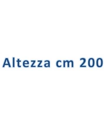 Altezza totale cm 200