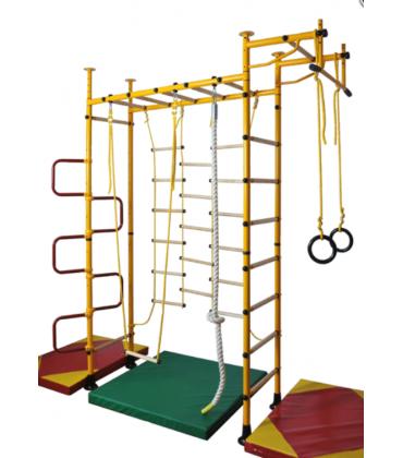 Percorsi e accessori per attività psicomotorie