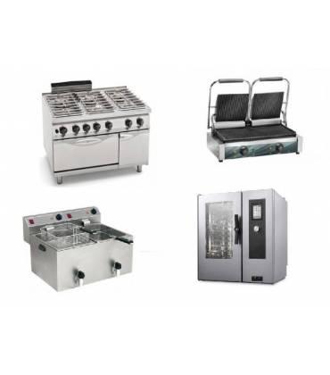 Cucine e attrezzature di cottura professionali