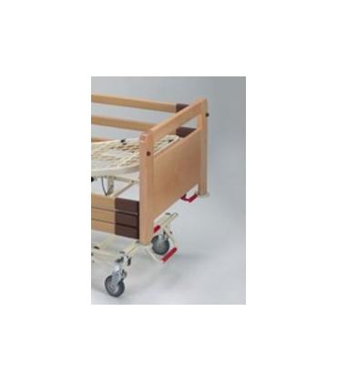Con telaio spalle in legno di faggio e sponde laterali