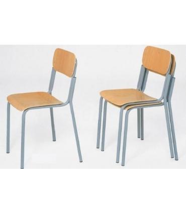 Sedie scolastiche senza braccioli