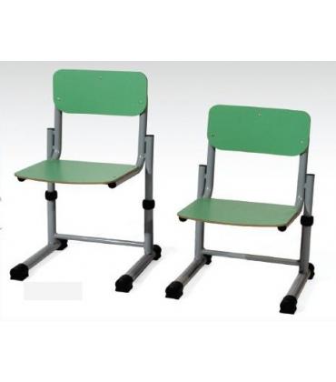 Sedie per scuola mutigrandezza regolabile ad altezza variabile