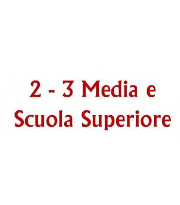GRADAZIONE 6 - Seconda - Terza Media e Scuola superiore