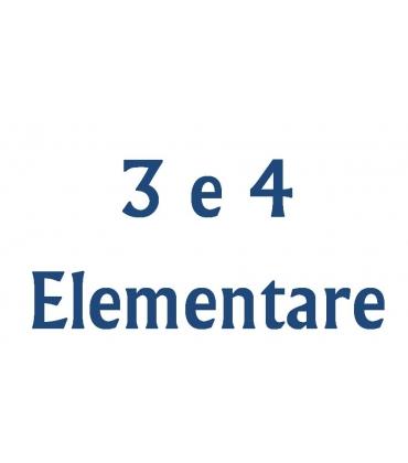 GRADAZIONE 4 - Terza e Quarta elementare