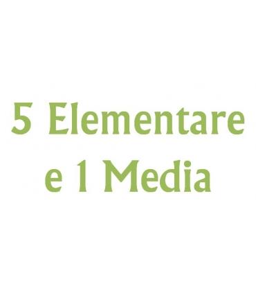 GRADAZIONE 5 - Quinta Elementare e Prima Media