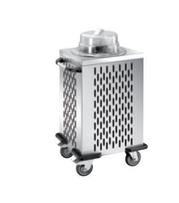 Carrelli sollevatori piatti livello costante refrigerabile