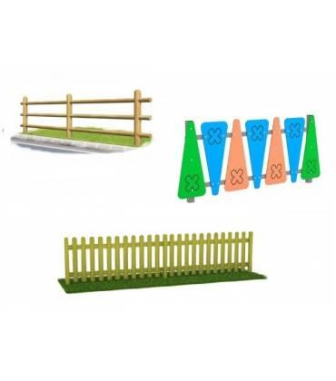 Recinzioni - staccionate e steccati