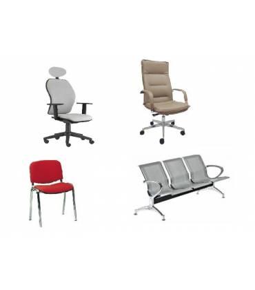 Produzione Sedie E Poltrone Per Ufficio.Sedie Panche E Poltrone Per Ufficio Arredamento Per Ufficio Dina
