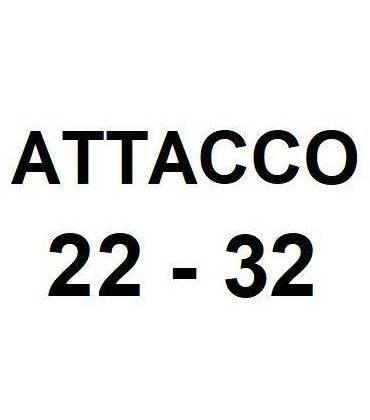 Attacco 22 - 32