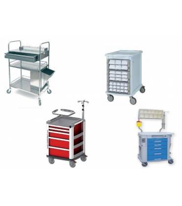 Carrelli per Ospedali - Medicali - Ambulatori
