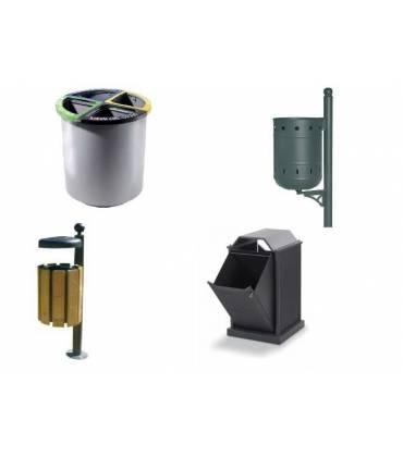 Cestini porta rifiuti da esterno