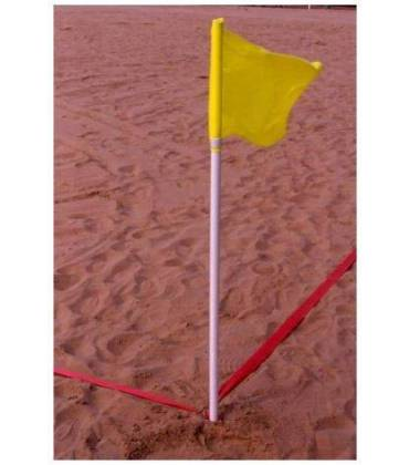 Pali calci d'angolo beach soccer e handball