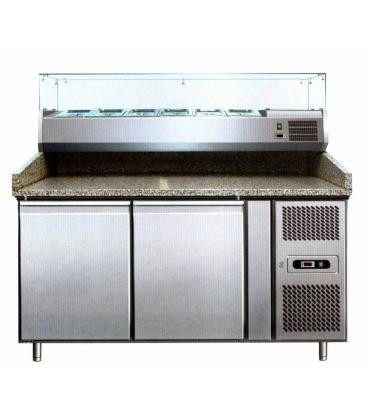 Tavoli banchi refrigerati preparazione pizzeria