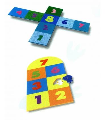 Pavimentazione composizione puzzle
