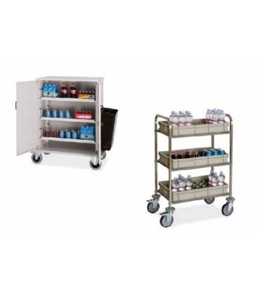 Carrelli rifornimento frigo-bar