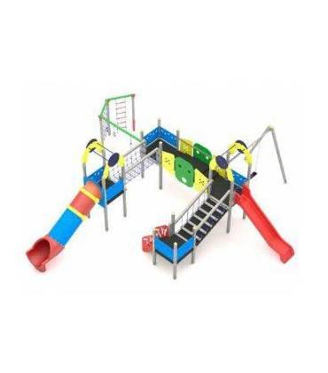 Parco giochi multiattività per esterno