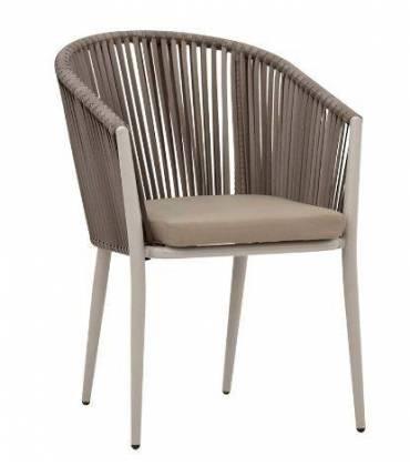 Sedie in alluminio e polietilene