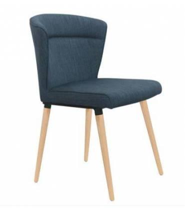 Sedie in metallo e legno, con tessuto o ecopelle