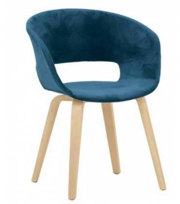 Sedie in legno e rivestimento in tessuto o ecopelle