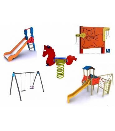 Giochi bambini per parchi e giardino per esterno