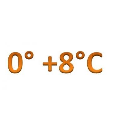 Temperatura 0° +8°C