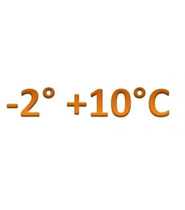 Temperatura -2° +10°C